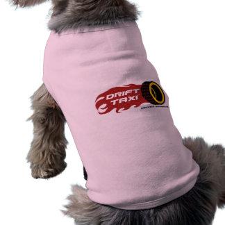 Camiseta O T do cão do táxi da tração