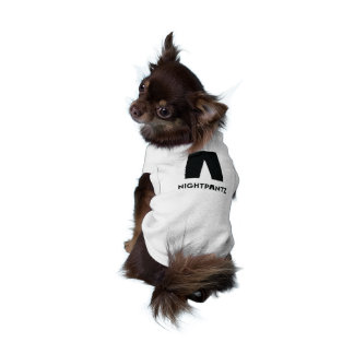 Camiseta O T do ícone do filhote de cachorro de Nightpantz