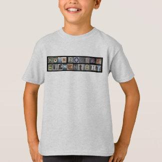 Camiseta O T do miúdo do cinza de cinza de John Rogers