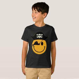 Camiseta O T do miúdo do pirata do Martha's Vineyard