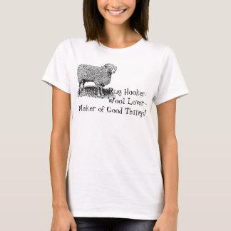Camiseta O T do navio de pesca a linha do tapete