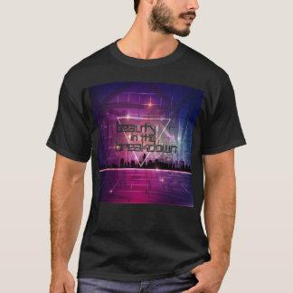 Camiseta O T dos homens - beleza na arquitectura da cidade