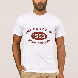 Camiseta O T dos homens Centauri de Brava