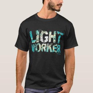 Camiseta O T dos homens claros do trabalhador