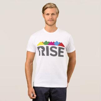 Camiseta O T dos homens da ELEVAÇÃO