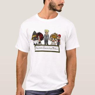 Camiseta O T dos homens da notícia de Zwinky do 10:00