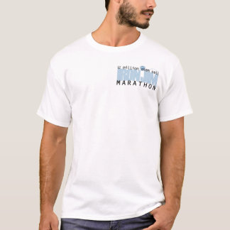 Camiseta O T dos homens de JIM do FERRO