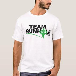 Camiseta O T dos homens de Runhole