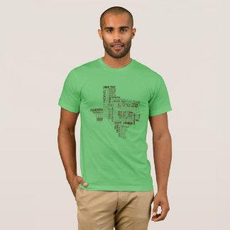 Camiseta O T dos homens do amante da cerveja de Texas