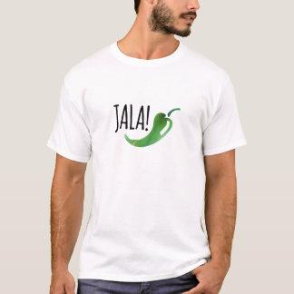 Camiseta O T dos homens engraçados do Jalapeno do Holla