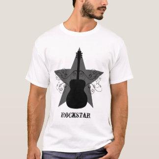 Camiseta O T dos homens extravagantes dos redemoinhos da