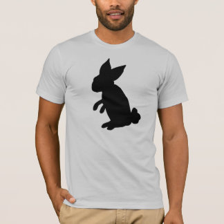 Camiseta O T dos homens grandes do coelho