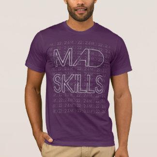 Camiseta O T dos homens loucos das habilidades