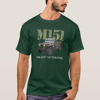 Camiseta O T dos homens M151