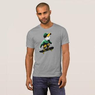 Camiseta O T dos homens minúsculos do skater de Oakland