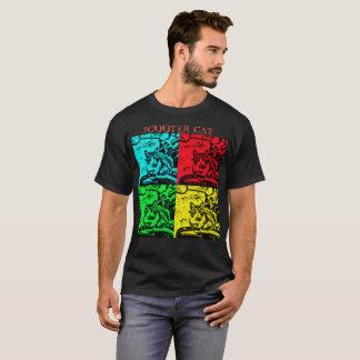 Camiseta O T dos homens negros básicos - introduzindo o