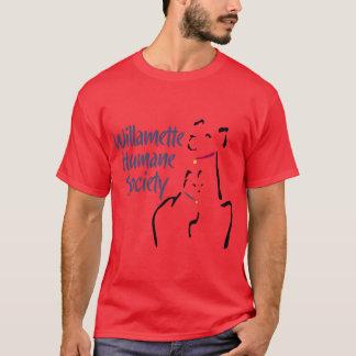 Camiseta O T dos homens (nenhum decalque traseiro)