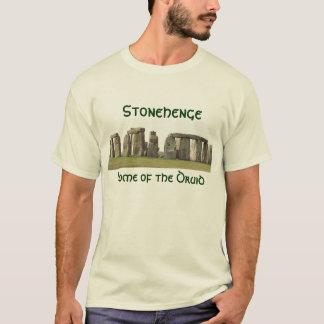 Camiseta O T dos homens - Stonehenge, casa do Druid