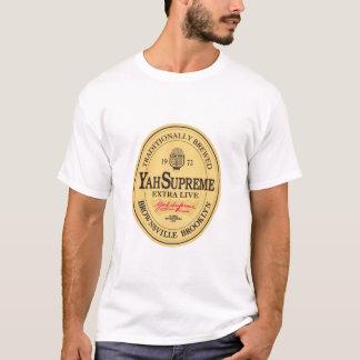 Camiseta o T dos homens vivos extra (branco)