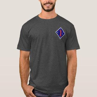 Camiseta ø T dos noivados da Divisão de Marinha
