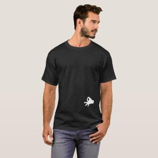 Camiseta O T engraçado do brincalhão da mordaça do t-shirt