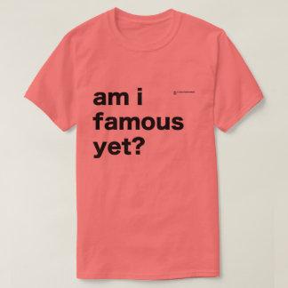 Camiseta O T famoso