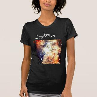 """Camiseta O T gráfico das mulheres do """"átomo"""""""