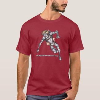 Camiseta O T gráfico dos homens do menino da mosca