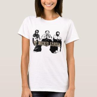 "Camiseta O T mau dos ""princípios"" do jardim"