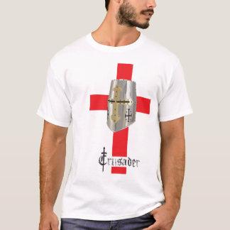 Camiseta O T padrão dos homens do cruzado