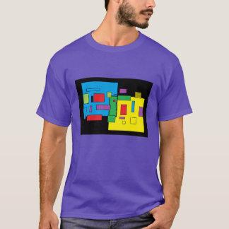 Camiseta O T roxo 'dos homens ALTOS grandes de n pelo DAL