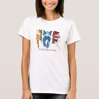 Camiseta O T sábio da boneca de três fadas