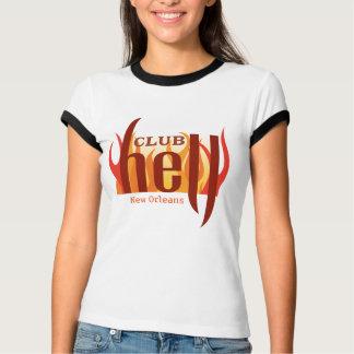 Camiseta O t-shirt 3 das mulheres do inferno do clube de