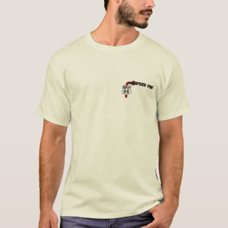 Camiseta O t-shirt alternativo da raiz