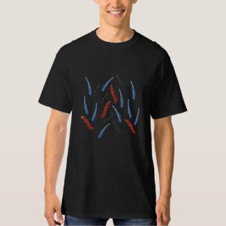 Camiseta O t-shirt alto dos homens do ramo