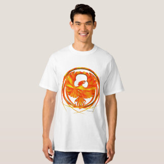 Camiseta O t-shirt alto dos homens impetuosos de Phoenix