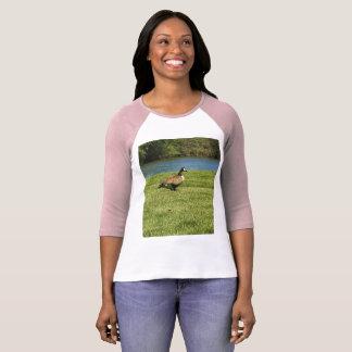 Camiseta O t-shirt animal das mulheres