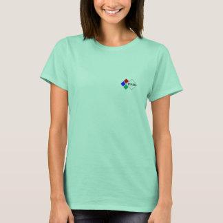 Camiseta O t-shirt básico da mulher da plaza