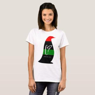Camiseta O t-shirt básico das mulheres africanas de