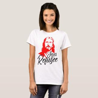 Camiseta O t-shirt básico das mulheres de Jesus
