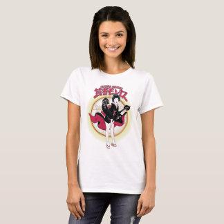 Camiseta O t-shirt básico das mulheres de Monroe da gueixa
