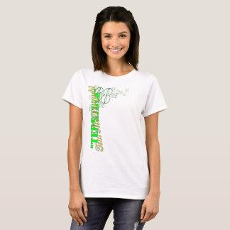 """Camiseta """"O t-shirt básico das mulheres de Tim terrível"""""""