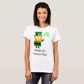 Camiseta O t-shirt básico das mulheres do dia do rissol