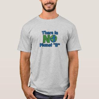 Camiseta O t-shirt básico de nenhuns homens do planeta B