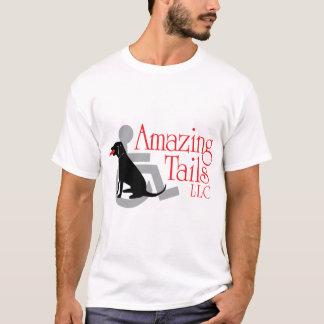 Camiseta O t-shirt básico dos homens