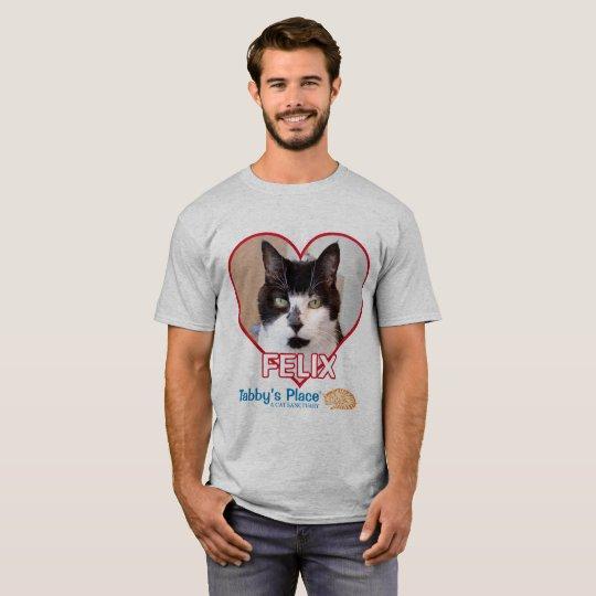 Camiseta O t-shirt básico dos homens - Felix
