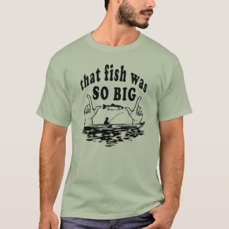 Camiseta O t-shirt básico dos homens grandes dos peixes