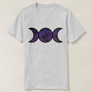 Camiseta O t-shirt básico dos homens roxos da deusa