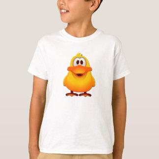 Camiseta O t-shirt básico w/logo dos meninos do pato
