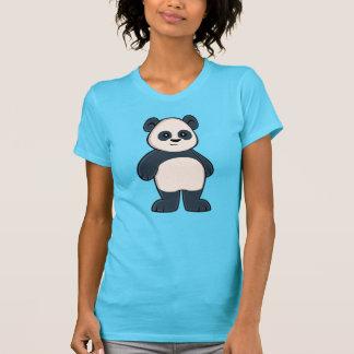 Camiseta O t-shirt bonito das mulheres da panda dos